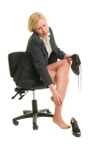 office-woman-hammertoe